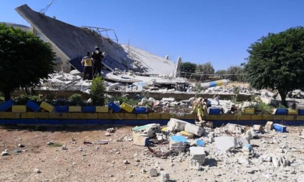 Assad Regime Destroys Civil Defense Center, Kills Rescuer in Northwest Syria