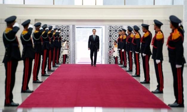 """President"" Assad Blames Lebanon for Syria's Economic Crisis"