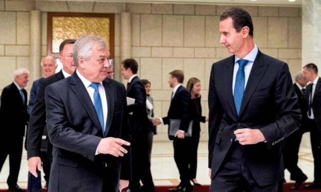 Russia Propaganda Barrage as Assad Hosts Kremlin's Envoy
