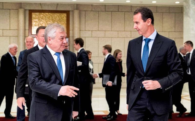 Russia's Special Envoy Meets Assad