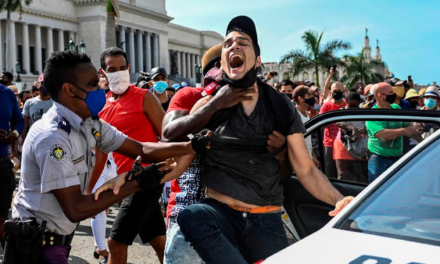EA on Monocle 24: The Protests in Cuba