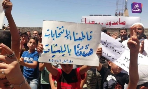 """UPDATE: Residents Defy Assad Reoccupation of Daraa — """"We Will Restore Beauty"""""""
