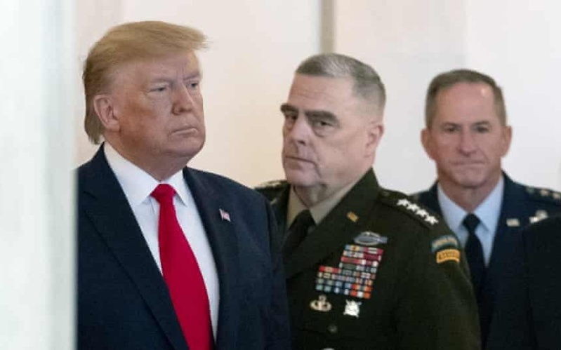 Gen. Milley Feared Trump Might Start War With China — and Even Order Nuclear Strike