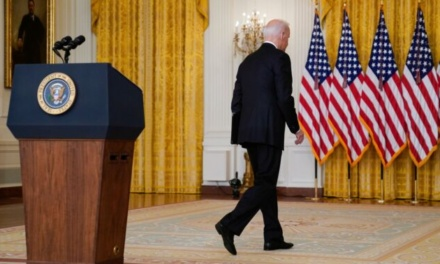 EA on China Radio International: Biden Administration's Blame Game on Afghanistan
