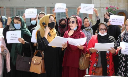 """""""The Taliban Warned My Family: Stop Her from Protesting"""""""