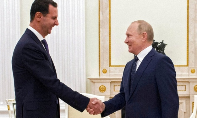 Assad Visits Putin in Moscow — But Why?
