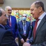 Assad Regime FM Mikdad Meets Russia's Lavrov at UN