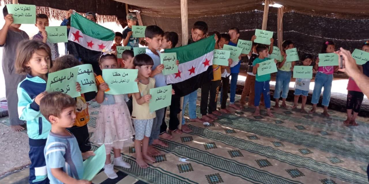 UPDATE: Rukban's Displaced Syrians Turn Away Empty UN Trucks