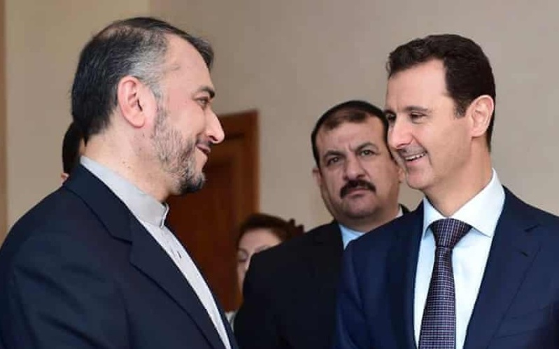 Iran's Foreign Minister Sits Down With Assad