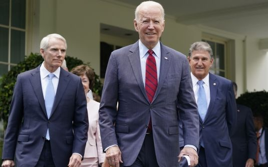"""Biden Scales Back $3.5 Trillion Budget, with """"Clean Energy"""" Likely to Be Cut"""